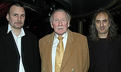 Lee Phillips with Leslie Phillips and Tony Royden, writer & producer